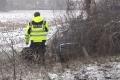 2018-02-03 10505 Marl Glaetteunfall PKW gegen Baum (NWM-TV) 05