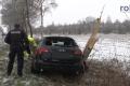 2018-02-03 10505 Marl Glaetteunfall PKW gegen Baum (NWM-TV) 10